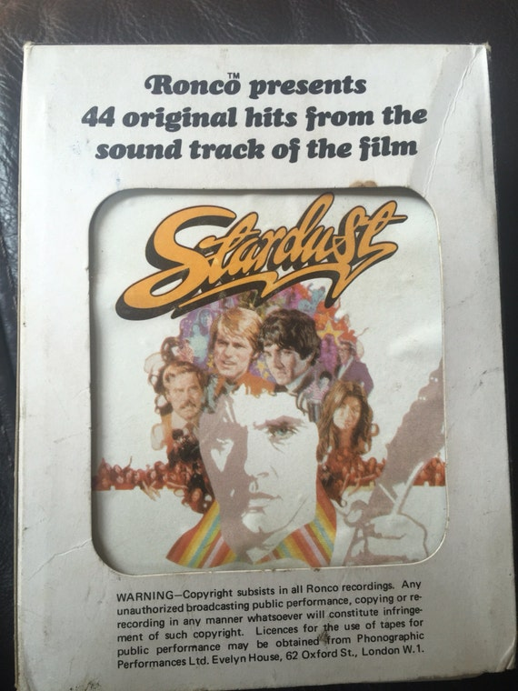 Eight track double cassette box set of  44 original hits from the soundtrack of the film