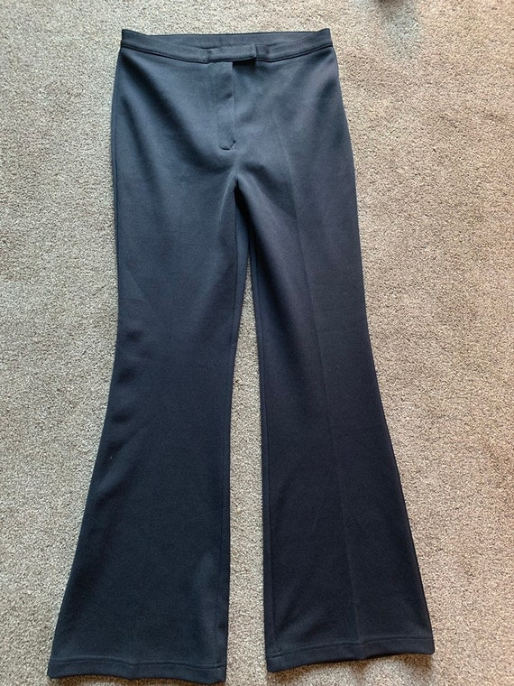 Ladies black trousers by Q'dos size uk 14