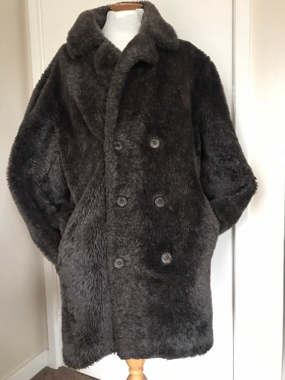 Vintage teddy bear/ driving jacket