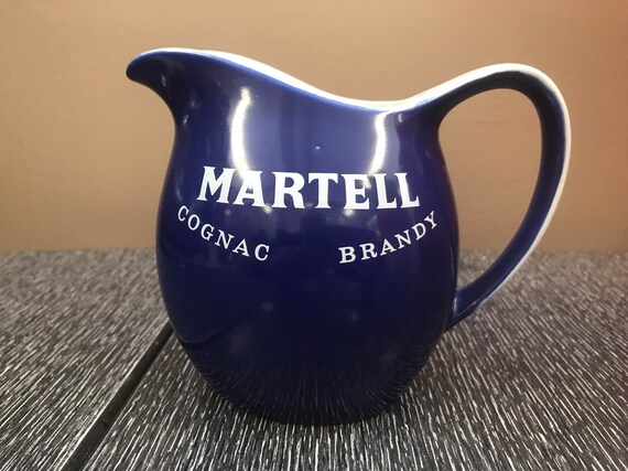 Vintage Martell  ceramic water jug for your cognac or brandy