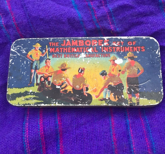The jamboree set of mathematical instruments- rare item