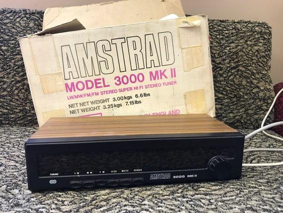 Vintage Amstrad hi fi stereo tuner - model 3000 MK 2