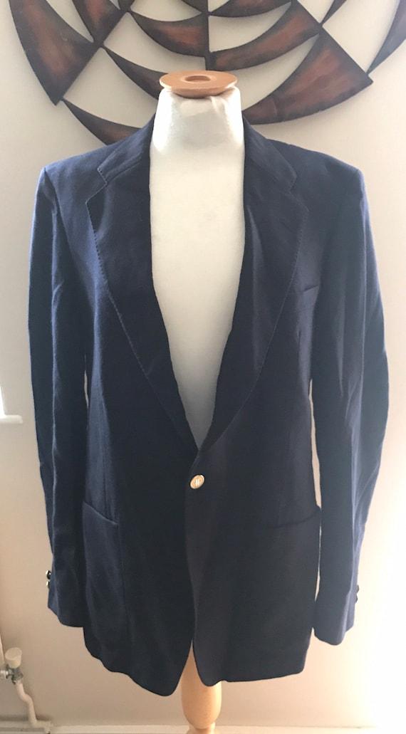 Harrods mens Vintage blazer size 40L