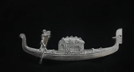 Vintage Gondola brooch