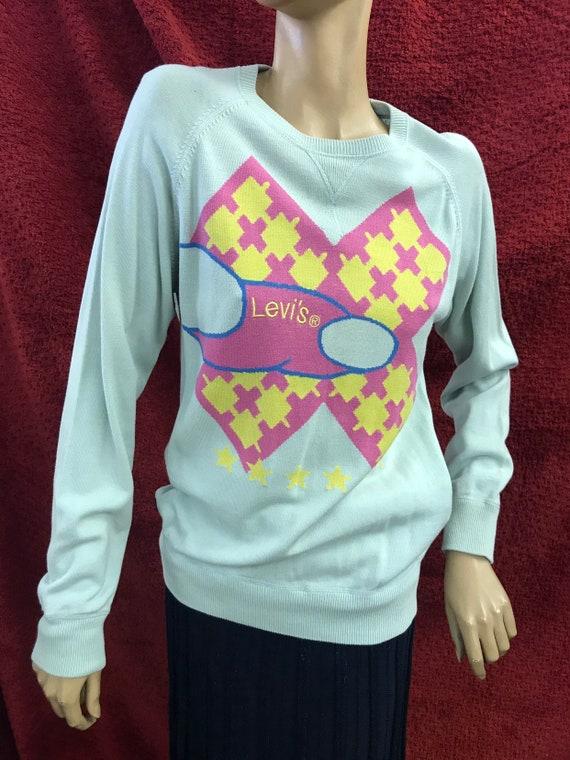 Vintage Levi's cotton jumper size medium
