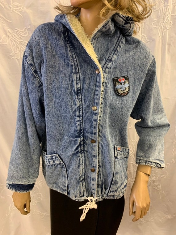 Vintage Gems denim jacket size uk 12
