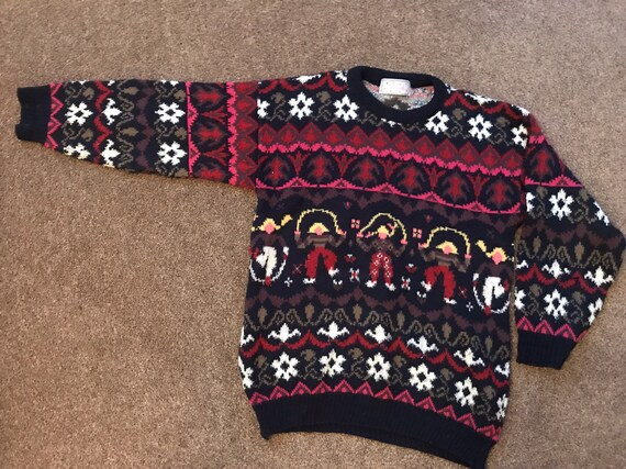 1980's Vintage jumper size medium