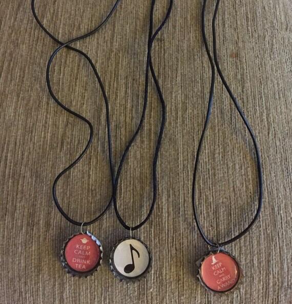 Bottletop necklace