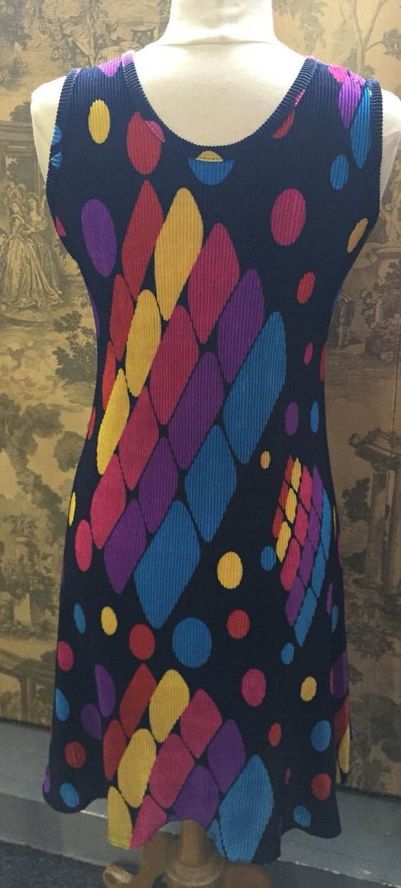1990s vintage summer dress sizes 10 to 16 – stretch fabric