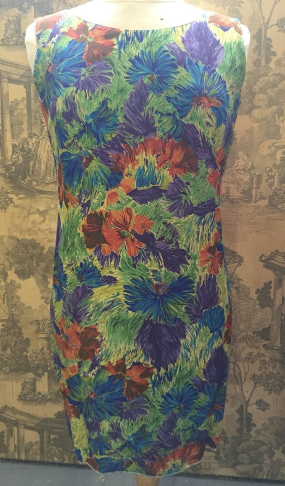 Beautiful silk floral dress by paper chase