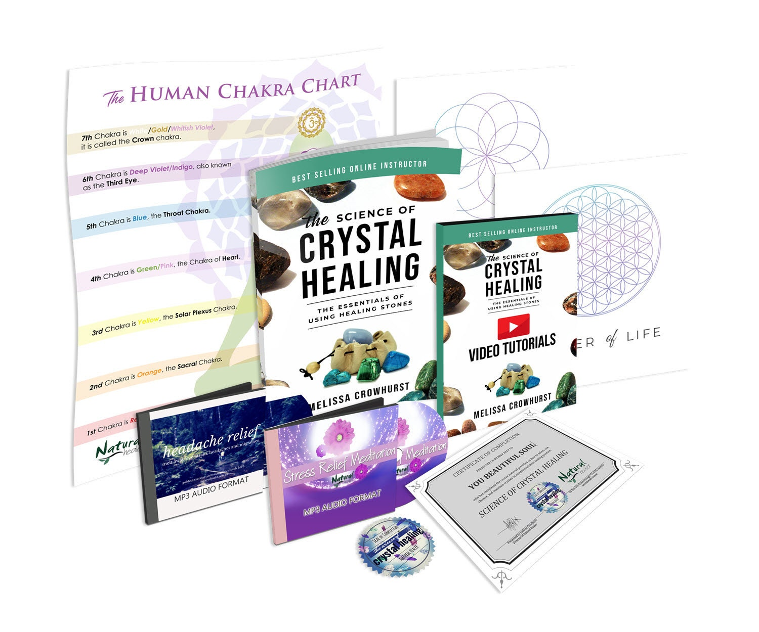 Science of Crystal Healing Course with Certification | Energy Healing,  Great Gift Idea