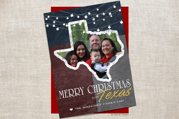 Texas Christmas Cards.Texas Christmas Cards Texas Holiday Card State Of Texas Texas Map Card Photo Christmas Card State Holiday Cards Texas Christmas Diy