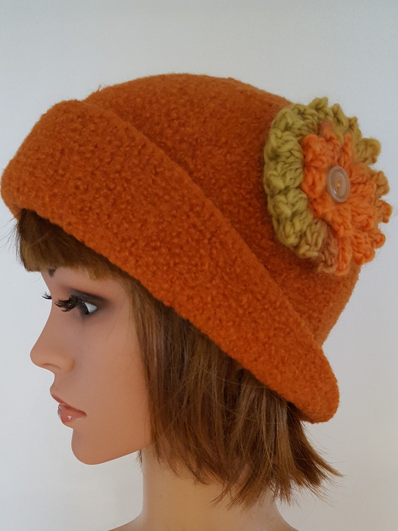 d1f9dd1468c Wool Felted Hat Womens Winter Cap Womens Stylish Unique