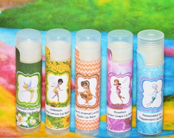 tinkerbell lip balm tinkerbell party favors tinkerbell birthday party tinkerbell party supplies tinkerbell birthday party favors fairy