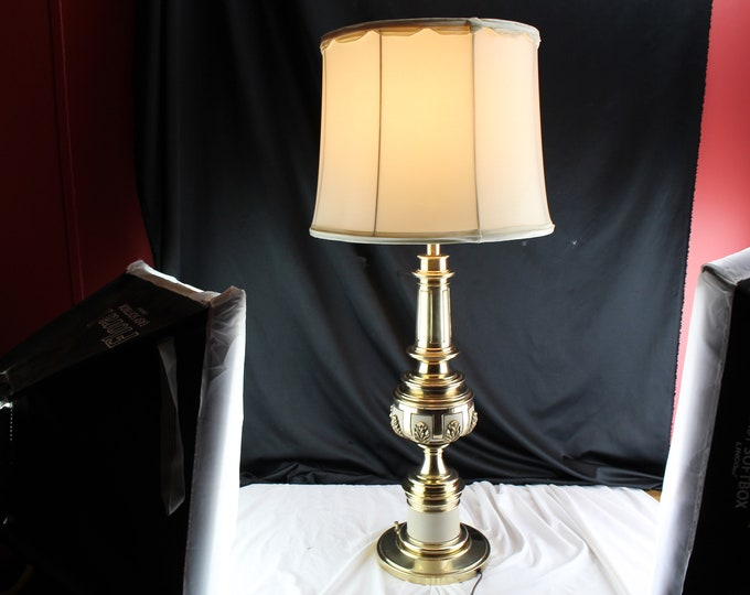Vintage Stiffel Lamp Tommy Parzinger Mid Century Acanthus Leaves Neoclassical Vtg Home Lighting