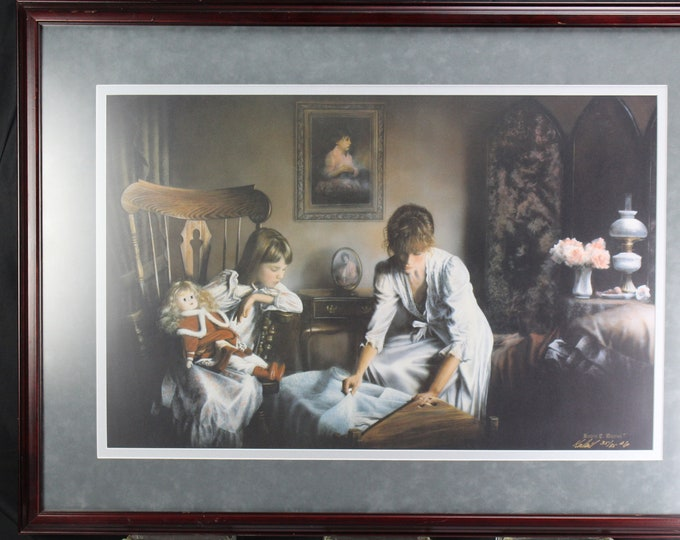 "Kevin Daniel Hand Signed and Numbered Limited Edition AP Litho: ""Sweet Dreams"""