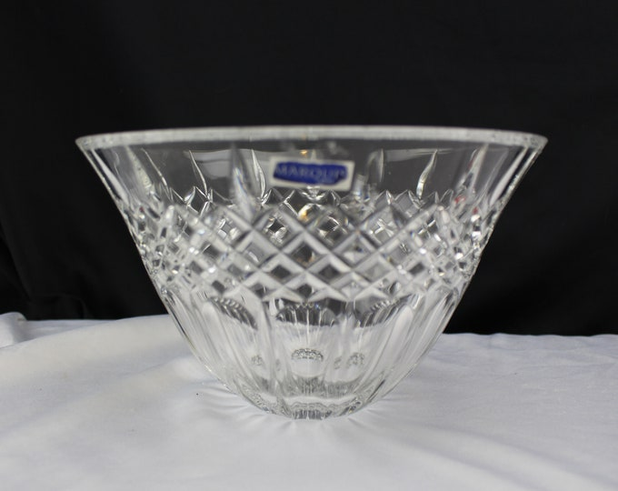 "Marquis by Waterford Rainfall Collection 8"" Crystal Bowl"