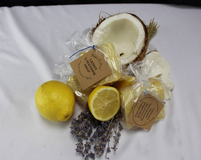 Hippie at Heart All Natural Health and Beauty Lemon Lavender Soap