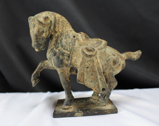 20th Century Bronze Statue/Figurine Tang Dynasty Style Tang Horse