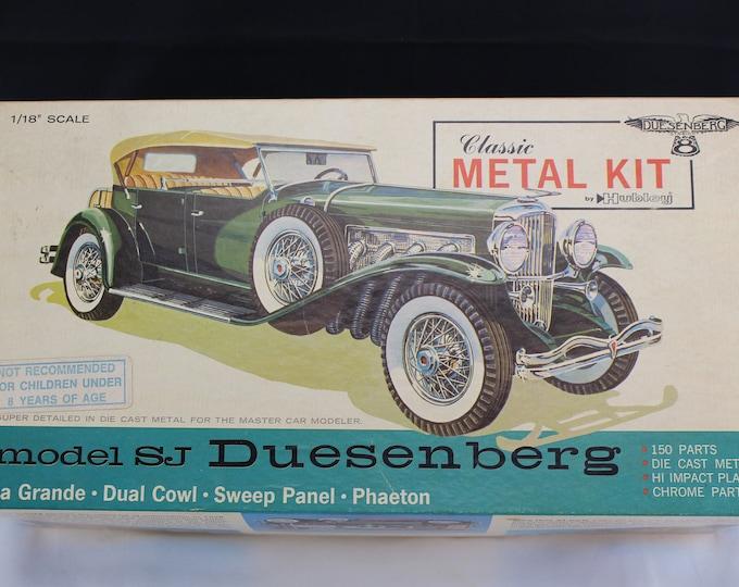 Hubbley Classic Metal Kit SJ Duesenberg Phaeton 1 18th Scale Model Kit
