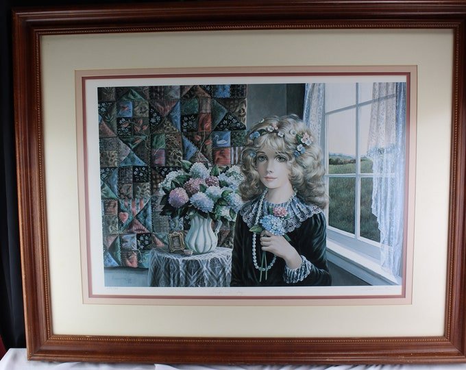 """Limited Number Litho Portrait """"PRIDE AND JOY"""" by Pati Bannister Free Shipping"""