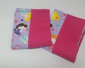 Set of 2 Princess Fairy Pillowcases