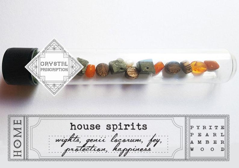 House Spirit Offerings  Home  Crystal Prescription image 0
