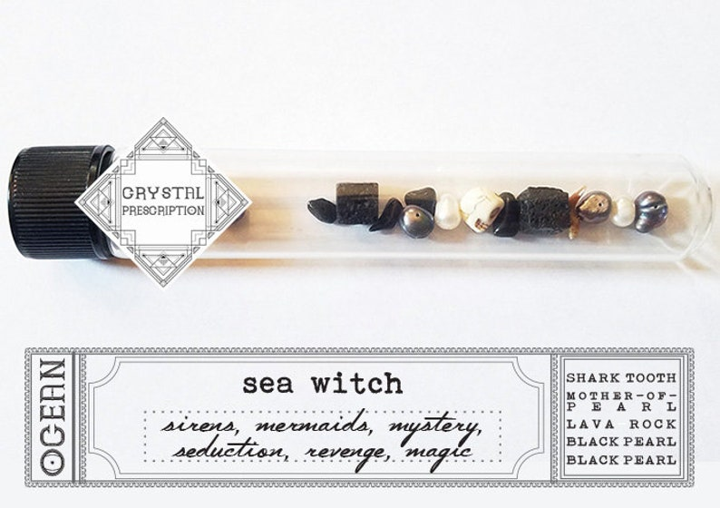Sea Witch  Ocean Magic  Crystal Prescription image 0