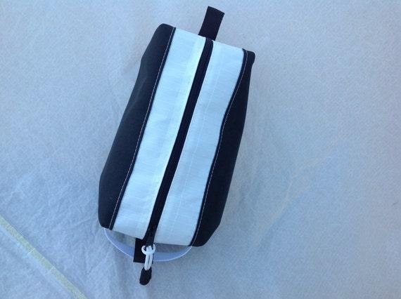 Black toiletry bag travel kit dopp bag unisex bathroom bag  4caa251543d82
