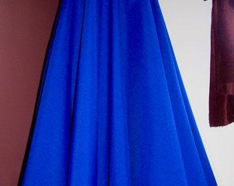 9d4a0e3393 Royal Blue Full Circle Skirt-Maxi Skirts-Royal Blue Color Long Skirt  Bridesmaid Skirt-Maxi Skirt-Summer wear skirt Plus size @sohoskirts