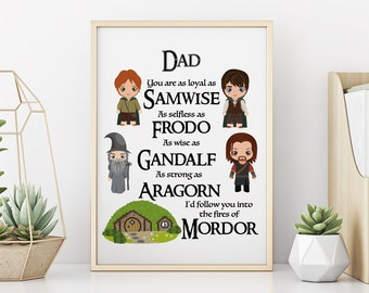 The hobbit gift Lotr home decor Personalized gift Lord of the rings decor Lord of the rings sign Christmas gift Lord of the rings gift