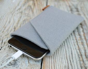 iPhone 6 felt case Felt cover iPhone 6s sleeve Phone case