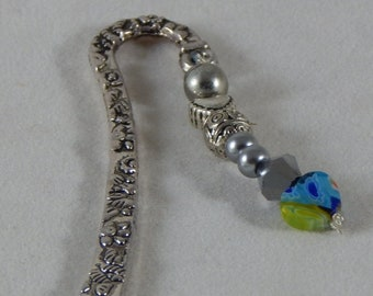 Unique Heart Charm Bookmark