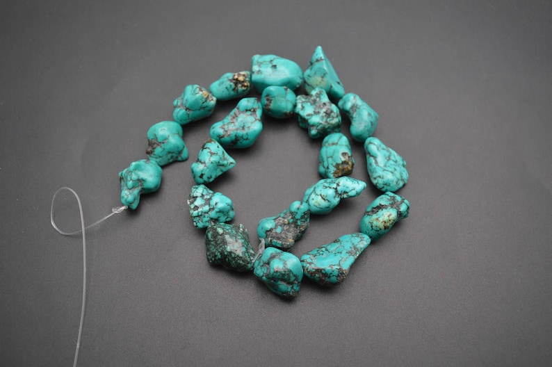12x16mm Craft Howlite Turquoise Gemstone Cross Loose Beads 16/'/' Strand