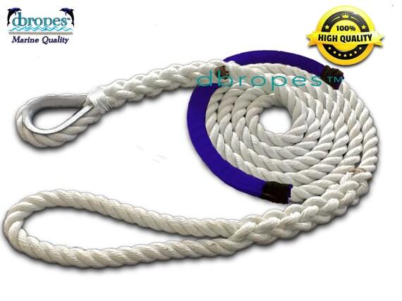Fender Whips 100/% Nylon Rope 3//8/' X 5/' Pack of 2