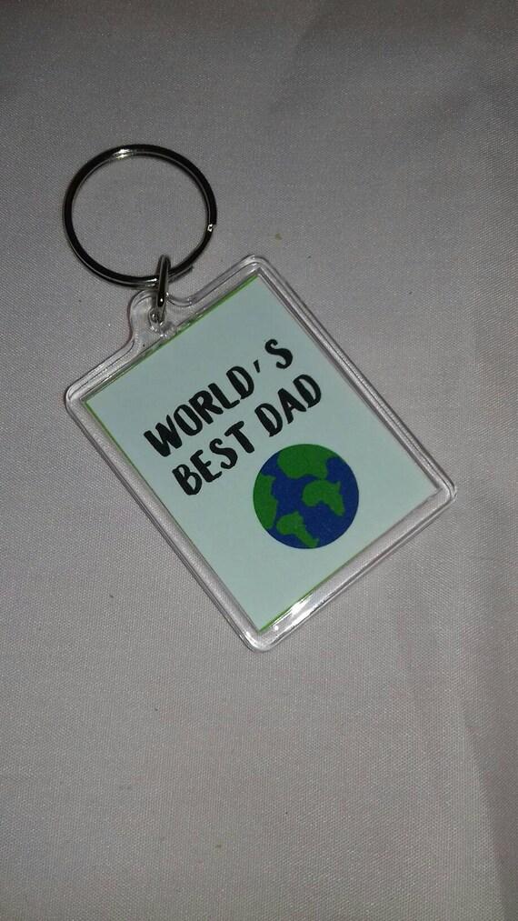 Weltweit beste Papa Keyring Weihnachtsgeschenk Papas | Etsy