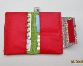 Minitäschchen Geldbeutel Tampontäschchen Tasche Mini Hygiene Hortensie