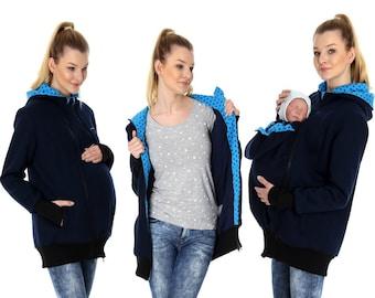 EXPRESS GoFuture\u00ae 4in1 Merino wool jacket Babywearing SHELTER ALLNATURA baby carrying coat maternity multifunction belly to baby