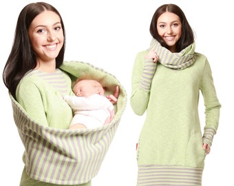 EXPRESS GoFuture\u00ae 5in1 Set ADELE Maternity dress Nursing dress Nursing scarf Breastfeeding cover up ADELE Maternity jumper Nursing