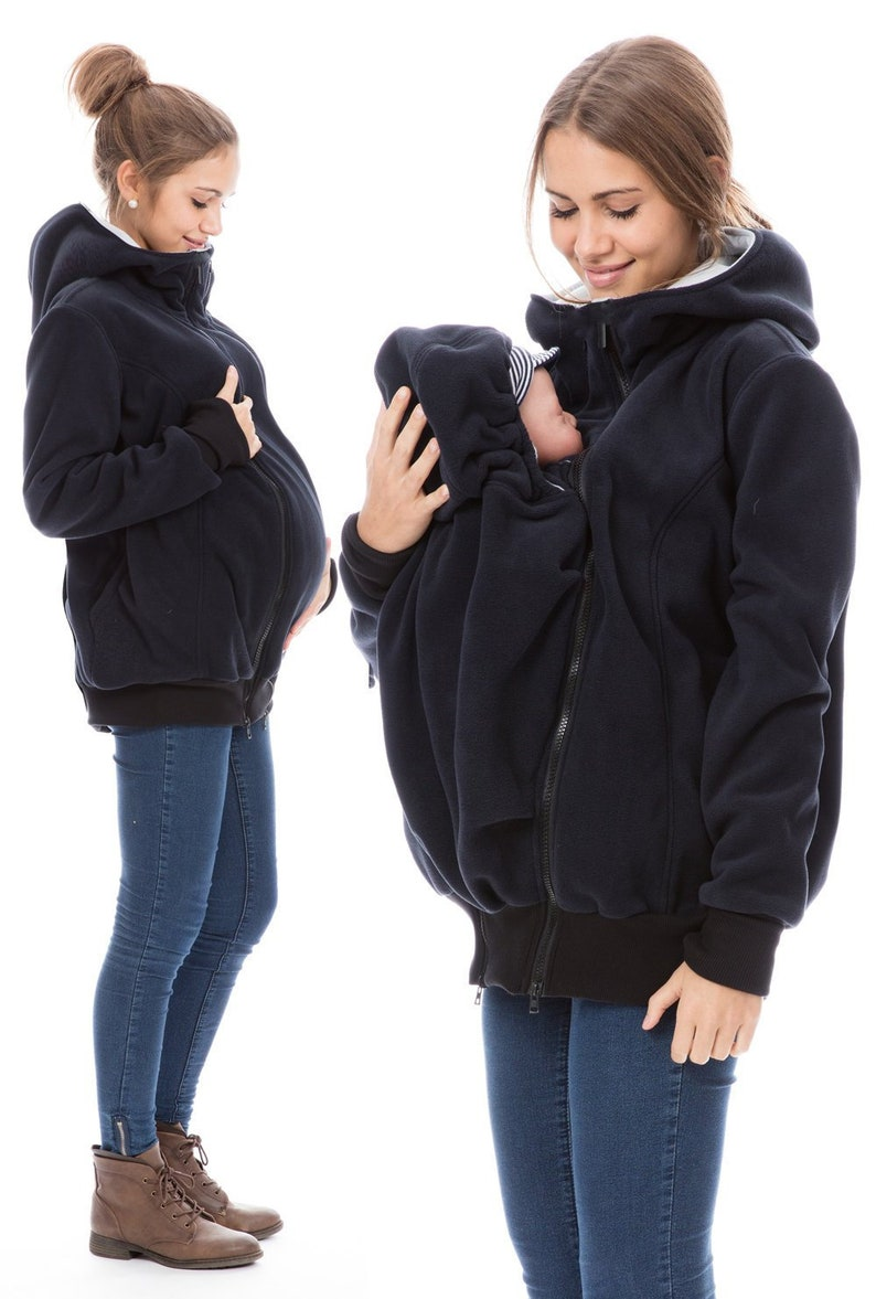 2848c4672b3ee GoFuture® 4in1 Babycarrying Babywearing HALLA Maternity jacket   Etsy