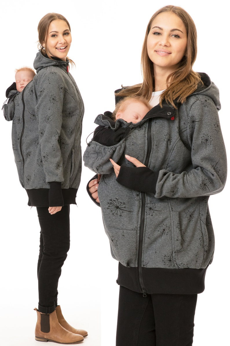 365d7288addc4 GoFuture® 5in1 Babywearing jacket front and back plus   Etsy
