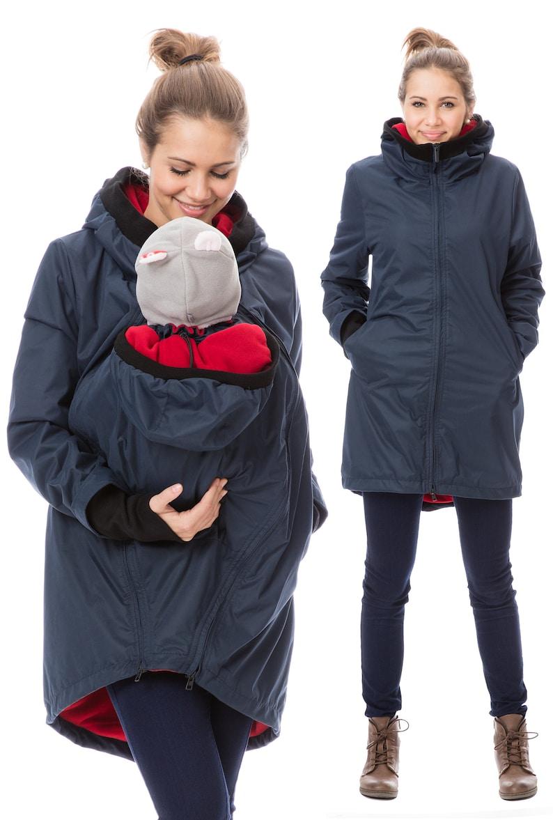e47745ea517f0 GoFuture® 4in1 Babycarrying jacket SHELTER Babywearing coat   Etsy
