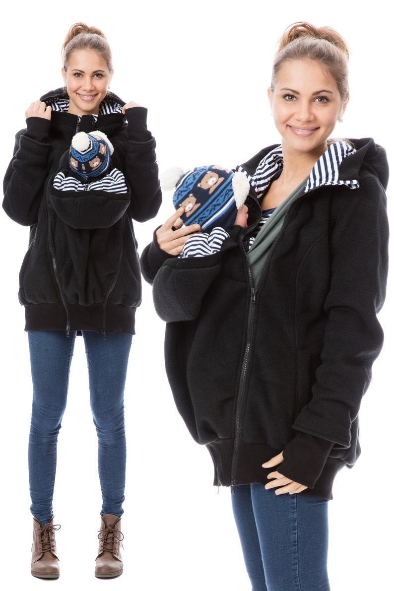99e41b6e99a76 GoFuture® 4in1 Baby wearing jacket Babycarrying Babywearing   Etsy