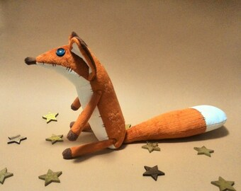 Fox toy - The little fox - Toys - fox plushie - Toy prince - Stuffed animals - Plush toy - Foxes - Gift for children - Kids gift