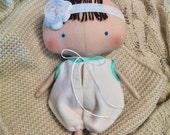 Reborn baby doll Tilda Baby girl Baby doll Bebe Reborns Baby shower gift Soft baby dolls Reborn toddler Baby girl gift Cloth dolls Handmade