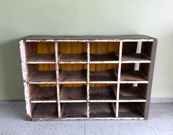 image 0 - Chicken Coop Shoe Rack Chicken Nesting Box Antique Farmhouse Etsy
