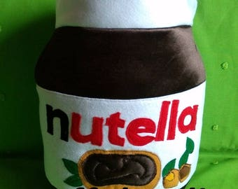 NUTELLA PILLOW GIFT IDEA