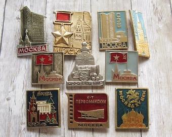 propaganda Soviet cities pin soviet badges WW2 cities badges historical evidence Soviet propaganda badges Hero City pins