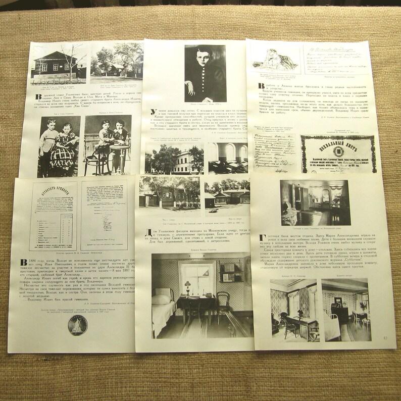 Vintage Postcards Set of 30 Postcards Soviet Ephemera Soviet Leaders 1989 Lenin Postcards USSR Revolution Real Photo Postcards