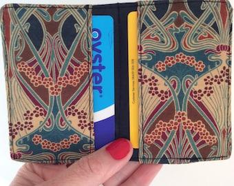 Liberty of London Card holder, Oyster card holder, travel card, credit card holder
